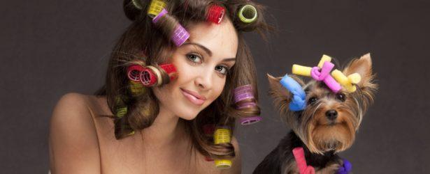 Без проблем накручиваем длинные волосы на бигуди